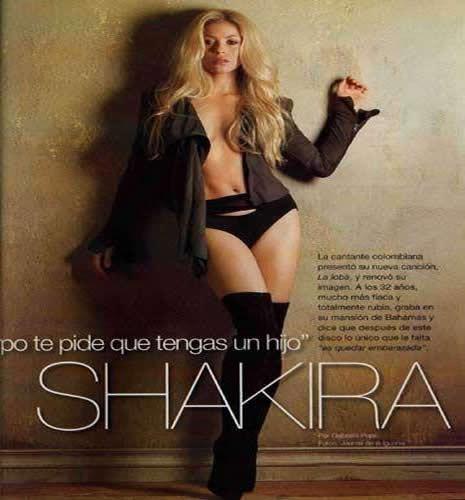 Shakira Türk reklamında galerisi resim 1