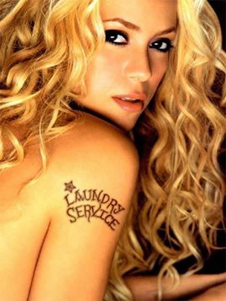 Shakira Türk reklamında galerisi resim 14