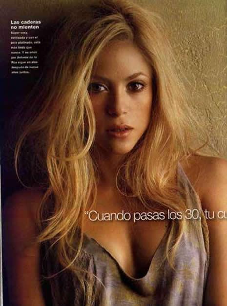 Shakira Türk reklamında galerisi resim 4