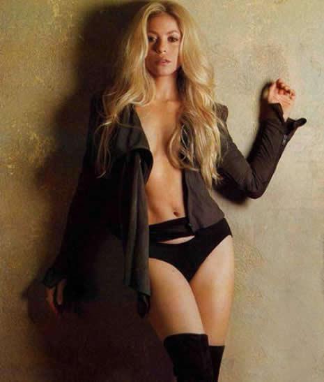 Shakira Türk reklamında galerisi resim 6