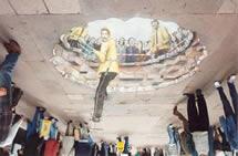 Üç boyutlu sokak sanatı
