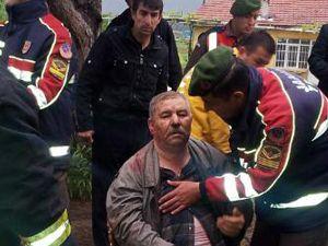 Kazadan kurtulup kuyuya düştü