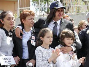 Albay Özenalp'in cenazesinde gözyaşı sel oldu