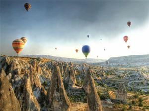 Rüya şehir Kapadokya