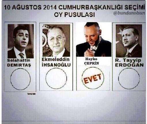 Cumhurbaşkanlığı seçim capsleri galerisi resim 7