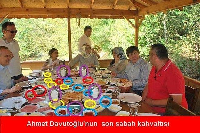 Davutoğlu'nun güldüren capsleri galerisi resim 1