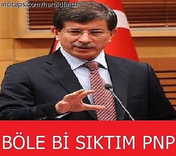 Davutoğlu'nun güldüren capsleri galerisi resim 12
