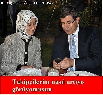 Davutoğlu'nun güldüren capsleri galerisi resim 16