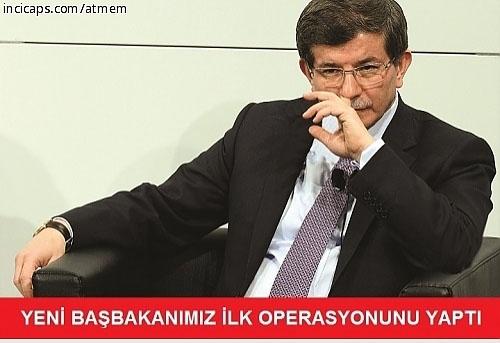 Davutoğlu'nun güldüren capsleri galerisi resim 17