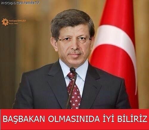 Davutoğlu'nun güldüren capsleri galerisi resim 21