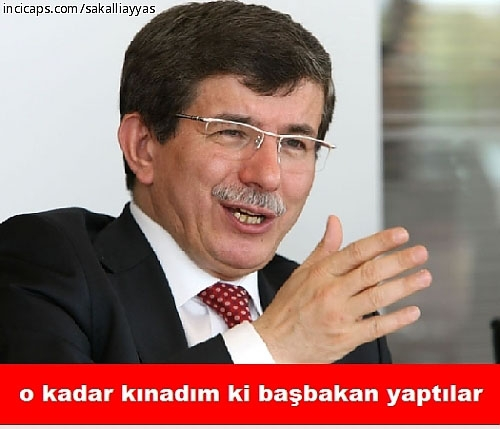 Davutoğlu'nun güldüren capsleri galerisi resim 3