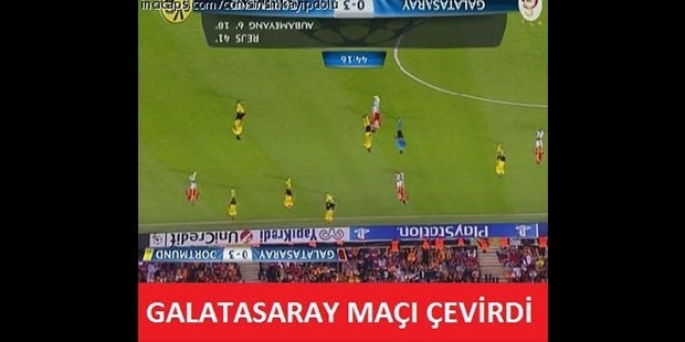 Galatasaray maçından sonra güldüren capsler galerisi resim 7