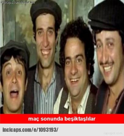 Beşiktaş kazandı capsler coştu galerisi resim 12