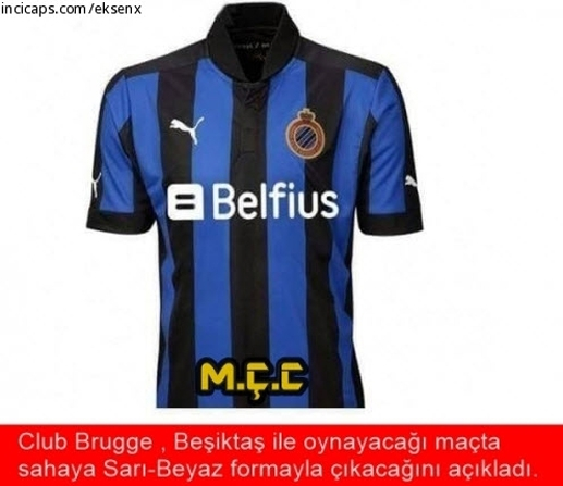 Club Brugge-Beşiktaş maçı Caps'leri! galerisi resim 1