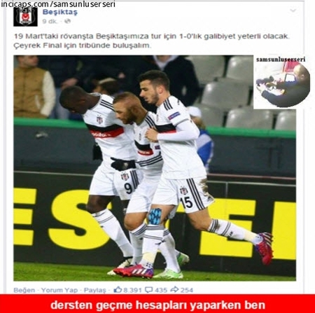 Club Brugge-Beşiktaş maçı Caps'leri! galerisi resim 15