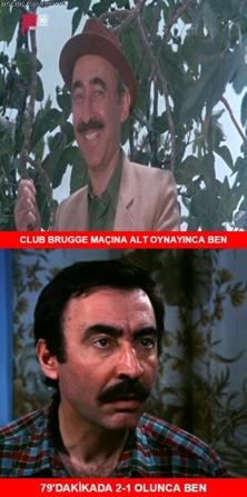 Club Brugge-Beşiktaş maçı Caps'leri! galerisi resim 9