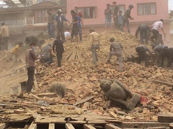 7,9'luk deprem sonrası ilk görüntüler galerisi resim 1