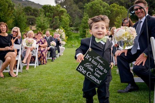 Düğün fotoğraflarında fenomen olan çocuklar galerisi resim 1
