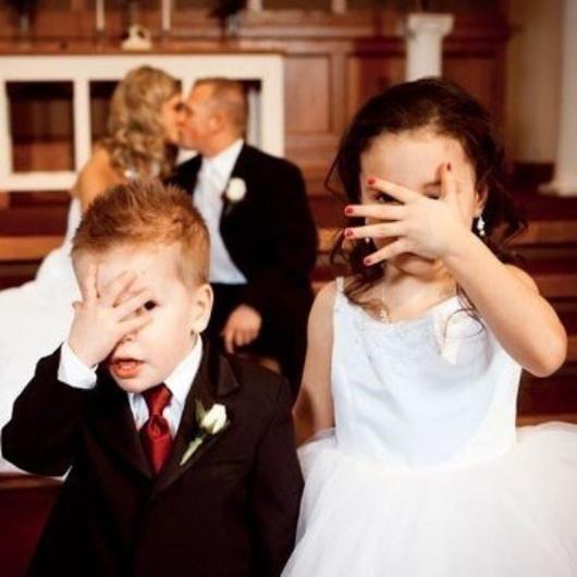 Düğün fotoğraflarında fenomen olan çocuklar galerisi resim 2