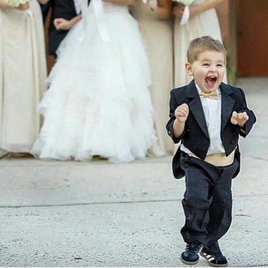 Düğün fotoğraflarında fenomen olan çocuklar galerisi resim 4