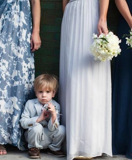 Düğün fotoğraflarında fenomen olan çocuklar galerisi resim 7