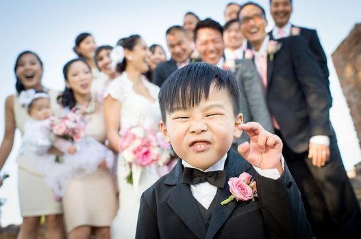 Düğün fotoğraflarında fenomen olan çocuklar galerisi resim 8