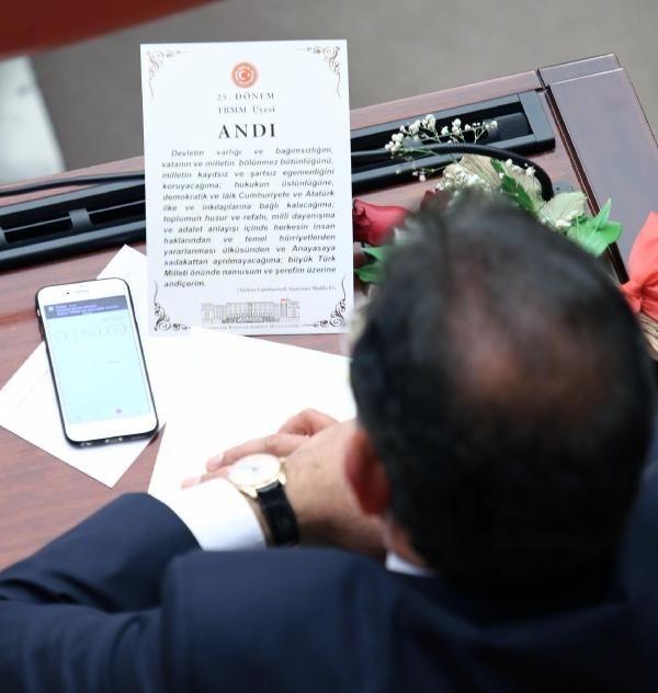 Fotoğraflarla mecliste yemin töreni! galerisi resim 1