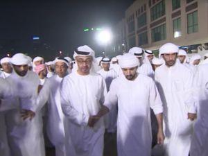Şeyh Rashid Bin Mohammed Al Maktoum'un cenaze töreni