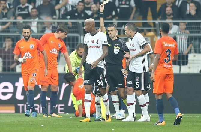 Beşiktaş-Başakşehir maçı fotoğrafları galerisi resim 2
