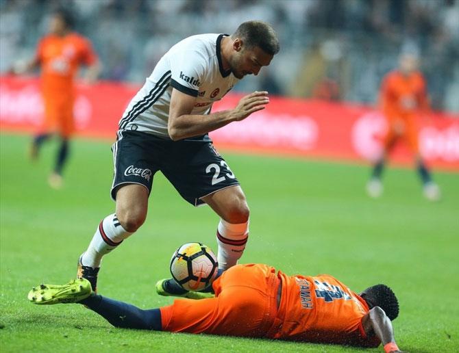 Beşiktaş-Başakşehir maçı fotoğrafları galerisi resim 5