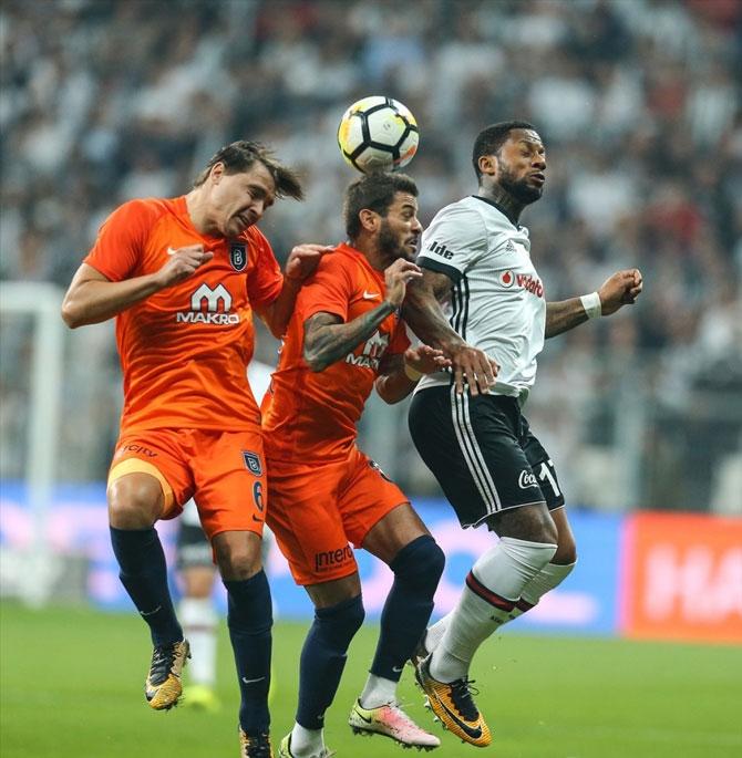 Beşiktaş-Başakşehir maçı fotoğrafları galerisi resim 6
