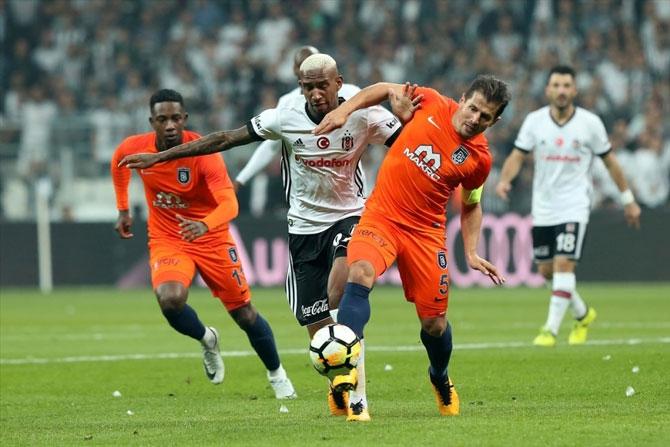 Beşiktaş-Başakşehir maçı fotoğrafları galerisi resim 9