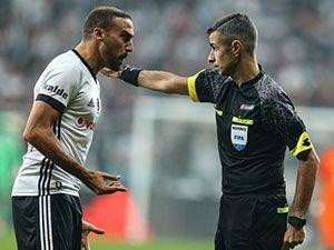 Beşiktaş-Başakşehir maçı fotoğrafları