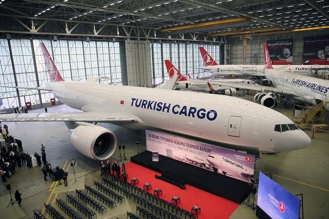 THY'nin 'Boeing 777' kargo uçağının teslim töreni galerisi resim 1