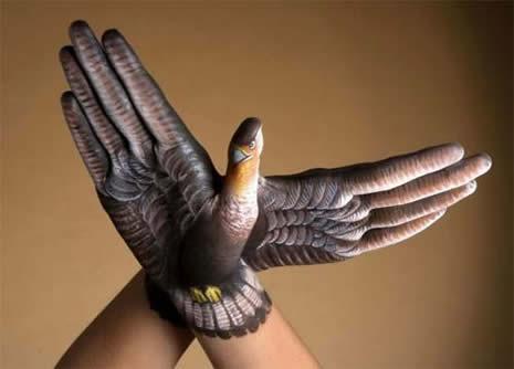 Boyalı ellerin görsel şöleni galerisi resim 15