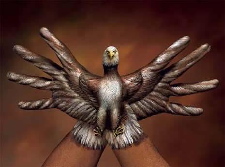 Boyalı ellerin görsel şöleni galerisi resim 4