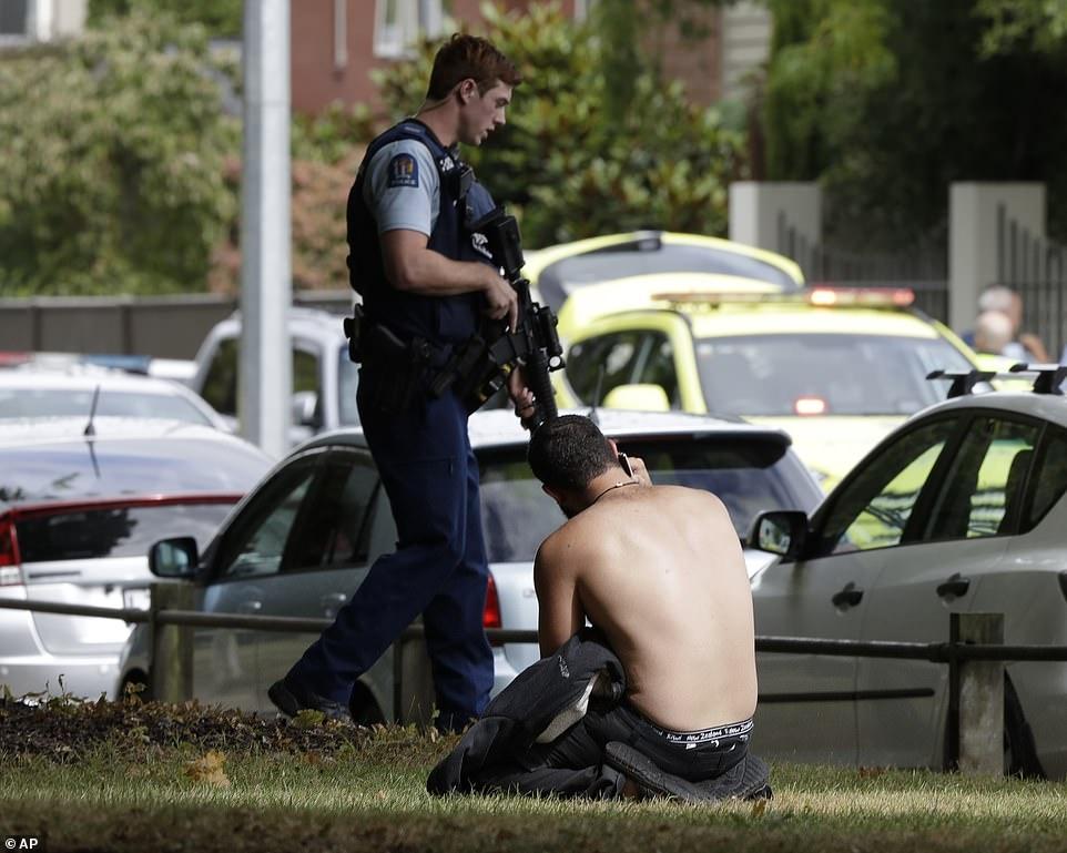 Yeni Zelanda'da iki camide katliam galerisi resim 7