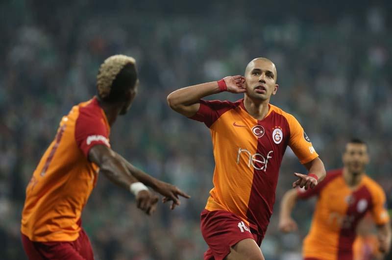 Bursaspor - Galatasaray maçından ilgin kareler galerisi resim 1