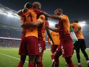 Bursaspor - Galatasaray maçından ilgin kareler