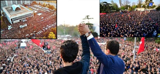 İstanbul Başkanı'nı böyle bağrına bastı galerisi resim 1