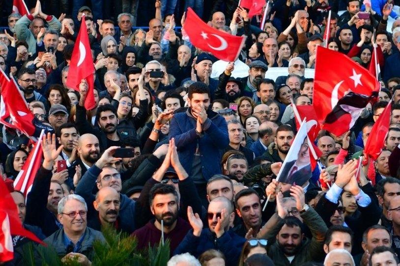 İstanbul Başkanı'nı böyle bağrına bastı galerisi resim 19
