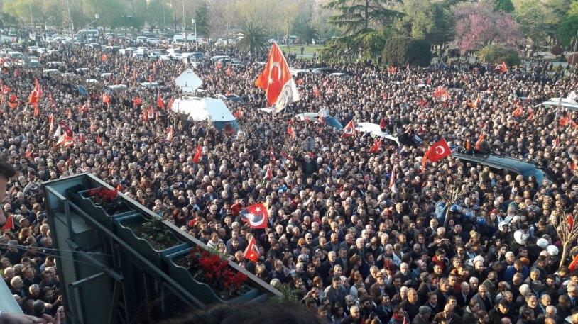 İstanbul Başkanı'nı böyle bağrına bastı galerisi resim 26
