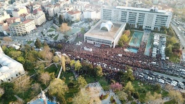 İstanbul Başkanı'nı böyle bağrına bastı galerisi resim 8