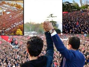 İstanbul Başkanı'nı böyle bağrına bastı