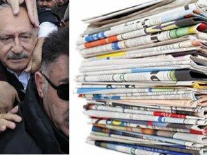 Kılıçdaroğlu'na saldırıyı gazeteler nasıl gördü?