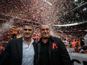 Galatasaray-Beşiktaş derbisinden ilginç kareler