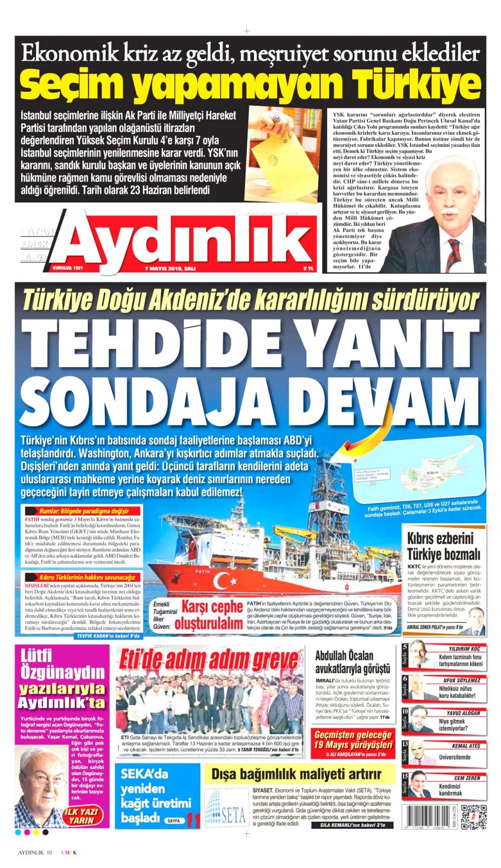Seçim iptalini Türk basını nasıl gördü? galerisi resim 11