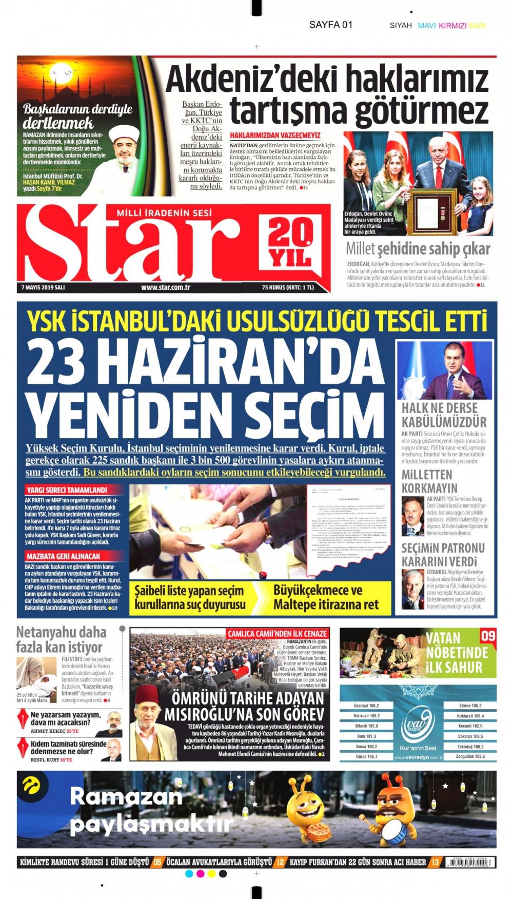 Seçim iptalini Türk basını nasıl gördü? galerisi resim 3