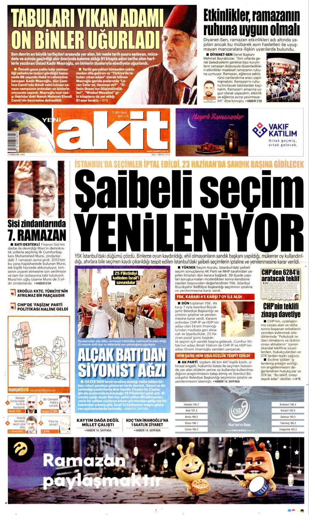 Seçim iptalini Türk basını nasıl gördü? galerisi resim 4