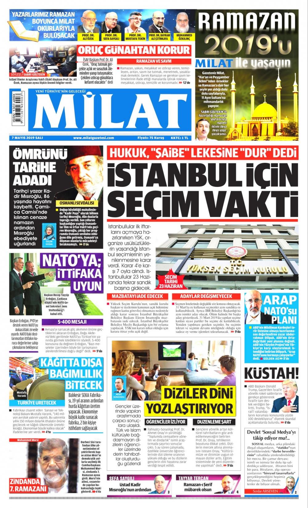 Seçim iptalini Türk basını nasıl gördü? galerisi resim 5